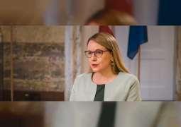"""وزيرة اقتصاد النمسا: """"إكسبو دبي"""" يمهد الطريق لفتح أسواق جديدة ويعزز التعاون الدولي"""