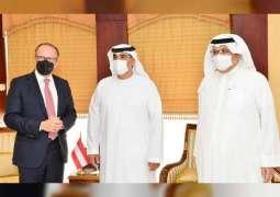 وزير خارجية النمسا يشيد بالخبرات الاستثمارية الإماراتية لتوفير حاضنات أعمال