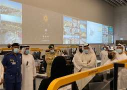 Dubai Customs delegation visits Expo 2020, tours logistics operations room
