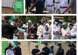 Careem highlights importance of road safety by distributing helmets, partners with authorities