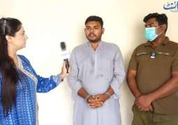 شاھد : القبض علی شاب قتل والدہ فی مدینة شیخوبورا