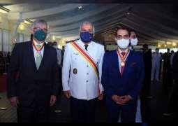 UAE Ambassador to Brazil receives 'Order of Merit'