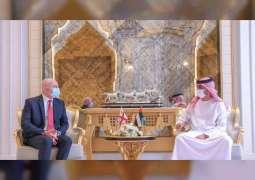 Ajman Crown Prince receives Georgian Ambassador