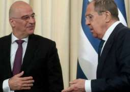 Greek Foreign Ministry Says Has No Info of Plans for Meeting Between Dendias, Lavrov