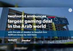 twofour54 announces agreement with Stillfront Group to sell Jawaker for AED750 million