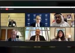 """أكاديمية أنور قرقاش الدبلوماسية واللجنة اليهودية الأمريكية تنظمان جلسة افتراضية حول """"الاتفاق الإبراهيمي"""""""