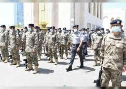 """قائد عام شرطة أبوظبي يشهد تمرين """"ضمان 5"""" لرفع الجاهزية"""