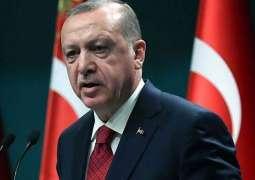 Erdogan Says Visited Construction Site of Akkuyu NPP in Southern Turkey
