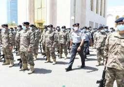 قائد عام شرطة ابوظبي يشهد تمرين وزارة الداخلية(ضمان 5) لرفع الجاهزية