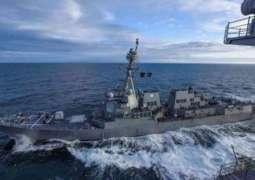 US Warship Passage in Taiwan Strait Triggers China's Combat Drills - Chinese Military