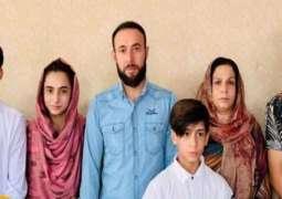 واشنطن تعترف مقتل 9 أشخاص من أفراد عائلتہ أفغانیة منھم 7 أطفال فی غارة أمریکیة