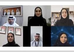 شما المزروعي تلتقي بمرشحي الدولة في برنامج المحترفين الشباب للمنظمة الكهروتقنية الدولية