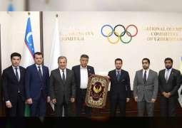اتفاقية تعاون بين الاتحادين الاماراتي والاوزبكي للرجبي