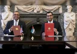 الإمارات والمملكة المتحدة توقعان اتفاقية لتعزيز التعاون المناخي والبيئي