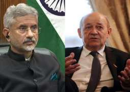India's Jaishankar Discusses Indo-Pacific Region, Afghanistan With France's Le Drian