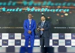 """بنك دبي التجاري يحصد جائزة """" التميز في الابتكار"""" من جوائز فينوفكس"""