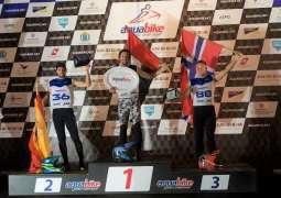 فيكتوري يظفر بلقب واقف فى بطولة العالم للدراجات المائية