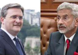 Top Serbian Diplomat, Indian Leadership Discuss Options to Boost Cooperation - New Delhi