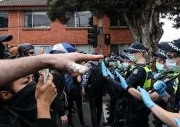Australia's Victoria Police Arrest Over 200 Anti-Lockdown Protesters in Melbourne