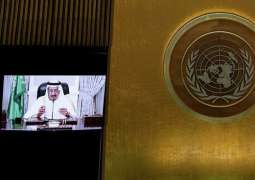 Saudi King Tells UN General Assembly Yemen's Houthis Reject Peaceful Solution to Conflict