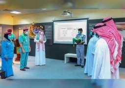 Sharjah Police celebrates Saudi National Day with festivities