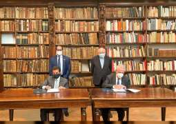 SBA inks MoU with Italy's Ambrosiana Library; signs agreement to digitise 2,500 rare Arabic manuscripts