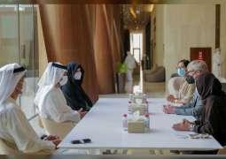 Maktoum bin Mohammed meets Director General of the International Council of Museums