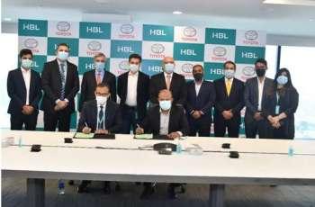 HBL and Indus Motor Company enter strategic alliance 