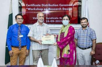 2-days workshop on 'Research Design' concludes at UVAS