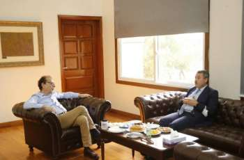 Turkish counsel general in Karachi Tolga Uchak had a meeting with the president Arts Council Mohammad Ahmed Shah on Thursday to discuss bilateral issues