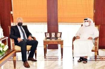 Abu Dhabi Chamber discusses increasing economic cooperation with Estonia