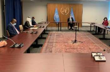 OIC Secretary General and His UN Counterpart Discuss OIC-UN Cooperation