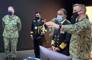 Naval Chief visits US to attend 24th Int'l Sea Power Symposium 2021