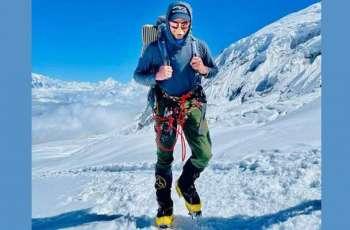 Sheroz Kashif scales 8163 meters high peak in Nepal