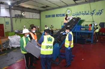 جمارك دبي تعيد تدوير 113 ألف قطعة من البضائع المقلدة