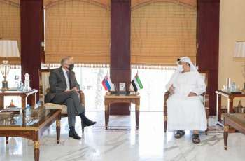 Abu Dhabi Chamber discusses increasing trade cooperation with Slovakia