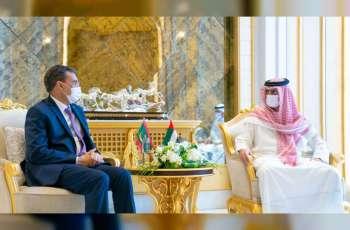 عمار النعيمي يستقبل سفير موريتانيا
