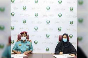 """""""نقل عجمان"""" توقع اتفاقية مع الادارة العامة للدفاع المدني"""
