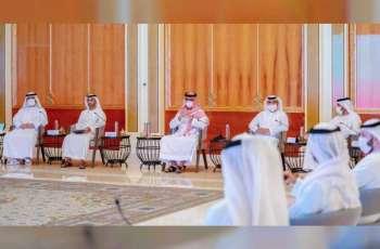 Ammar Al Nuaimi chairs 8th meeting of Ajman Executive Council in 2021
