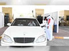 منافذ الإمارات البرية تستقبل القادمين من سلطنة عمان