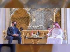 Ajman Crown Prince receives Iraqi Ambassador
