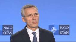 NATO Chief Says Alliance Continues to Support Ukraine's Territorial Integrity, Sovereignty