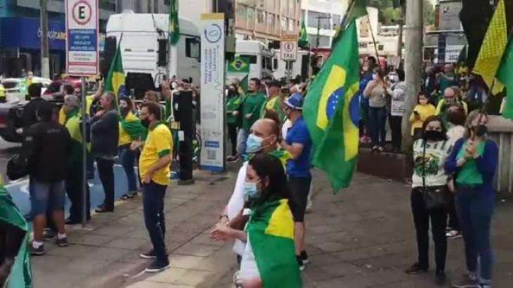 Pro-, Anti-Bolsonaro Rallies Hit Brazil on Independence Day