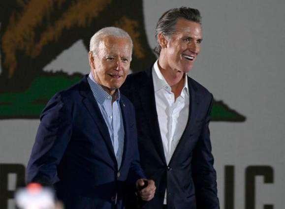 Biden Congratulates California Governor Newsom on Victory in Recall Vote - Statement