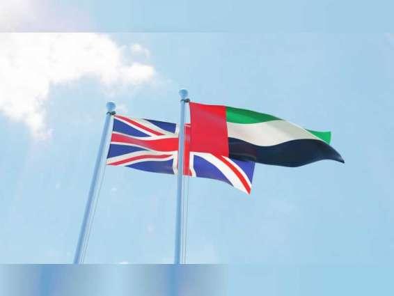 UAE, UK agree to establish new, ambitious 'Partnership for the Future'