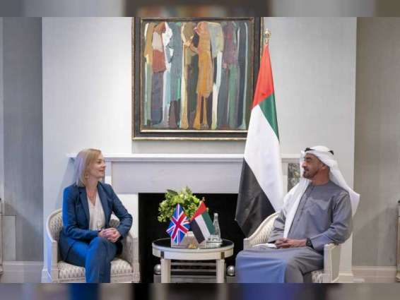 Mohamed bin Zayed, UK Foreign Secretary review accelerating bilateral ties