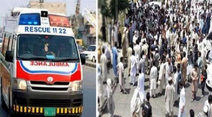 مقتل 9 و اصابة 15 آخرین اثر اطلاق نار خلال تشییع جنازة فی منطقة دیر باقلیم خیبر