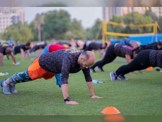 "شرطة دبي تختتم فعاليات مهرجان ""كن رياضياً"""