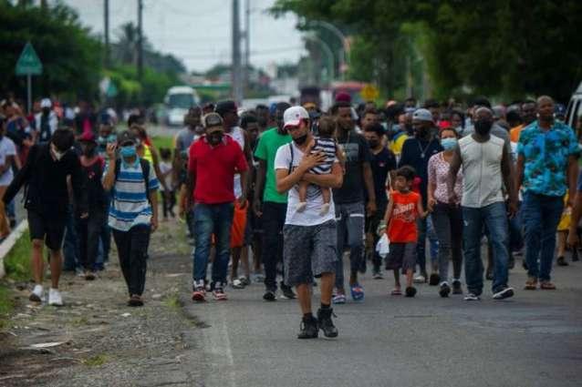 More Than 10,000 Illegal Migrants Kept Under Bridge on Texas-Mexico Border - Reports