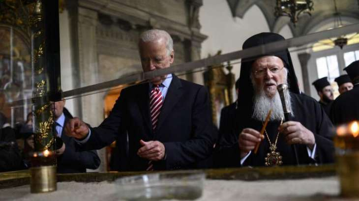 Constantinople Patriarch to Meet Biden During Visit to US in Late October - Statement